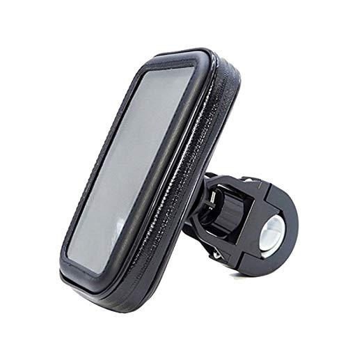 CVMW Bolsa de sillín de montaña, funda de teléfono, bolsa de sillín, bolsa de marco de bicicleta, soporte para teléfono móvil para bicicleta, paquete de soporte de vehículo para montar al aire libre