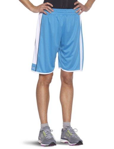 Spalding 4her Shorts De Equipaciones, Mujer, Cyan, XXXL