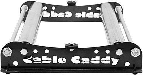 Kabelabroller, Kabelabwickler: Cable Caddy für Rollen bis 510 mm - mehrere Farben (Schwarz)