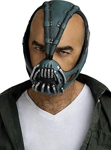 Funidelia   Mscara de Bane - Batman Oficial para Hombre Superhroes, DC Comics, Villanos, El Caballero Oscuro - Multicolor, Accesorio para Disfraz