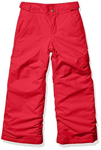Columbia Boys' Kids Ice Slope II Pant, Mountain Red-Legacy, Large