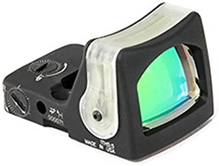 RMR Dual-Illuminated Reflex SIght, Fiber Optics/Tritium 9.0 MOA Amber Dot