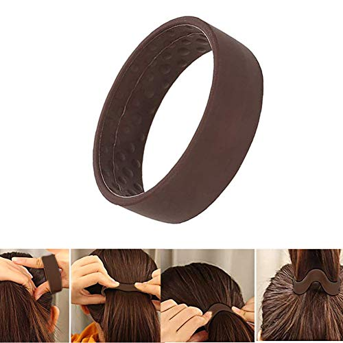 Hair Bands, Silicone Foldable Ha...