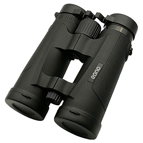 Eono by Amazon - XP Binoculars | 10x42 BAK4 FMC for Adults, Compact and Lightweight, for Wildlife Hunting Bird Watching Concert,with Case and Strap