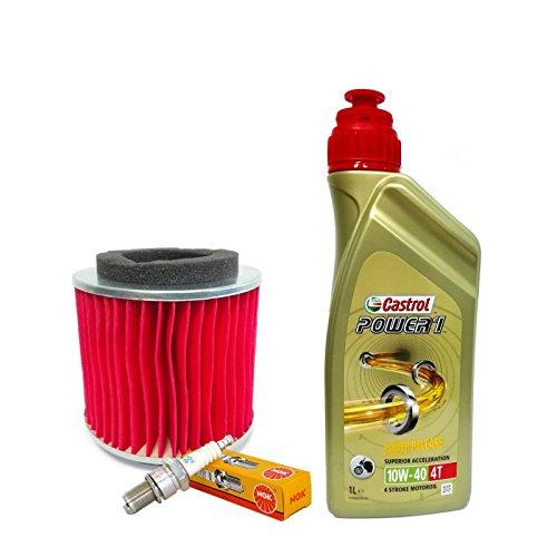 Kit tagliando Castrol 10W40 filtro aria candele Skyliner/Majesty 125