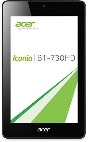 Acer Iconia One 7 (B1-730HD) 17,8 cm (7 Zoll) Tablet-PC (Intel Atom Z2560, 1,6GHz, 1GB RAM, 8GB eMMC, HD Display mit IPS Technologie, Android 4.2) rot