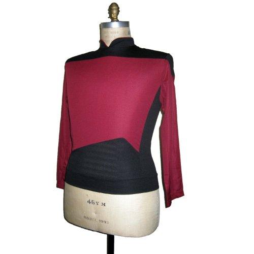 Star Trek - The Next Generation - Raumschiff Enterprise - Uniform Shirt - Rot - L