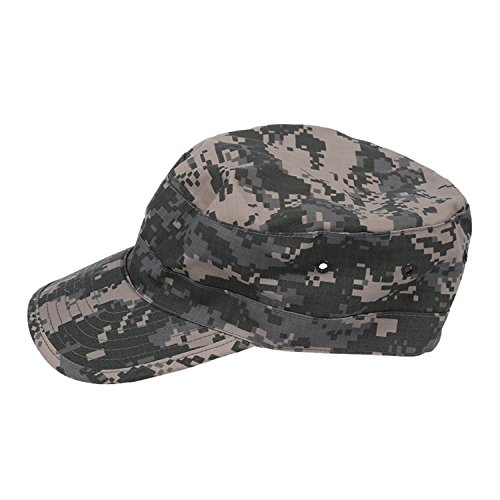SODIAL (R) armee militaire Sun urbain Visiere Lady Hat Hommes Camo Camouflage Jungle Baseball - ACU Camo