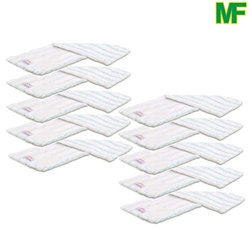 10 x Premium Wischmop Mikrofaser Mopp Bodenwischer 80 cm
