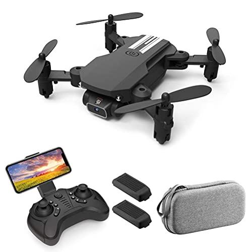 Drone con telecamera per adulti 4K HD FPV Live Video 120 °Occhiali 3D VR con supporto mini drone grandangolare, sensore di gravità quadricottero RC, ritorno di una chiave a 360 °;Capovolgi con luce