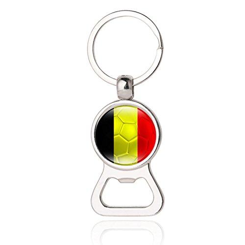 Mini Bier Fles Cap Openers Sleutelhanger Heren Mode Sieraden 5# Belgium