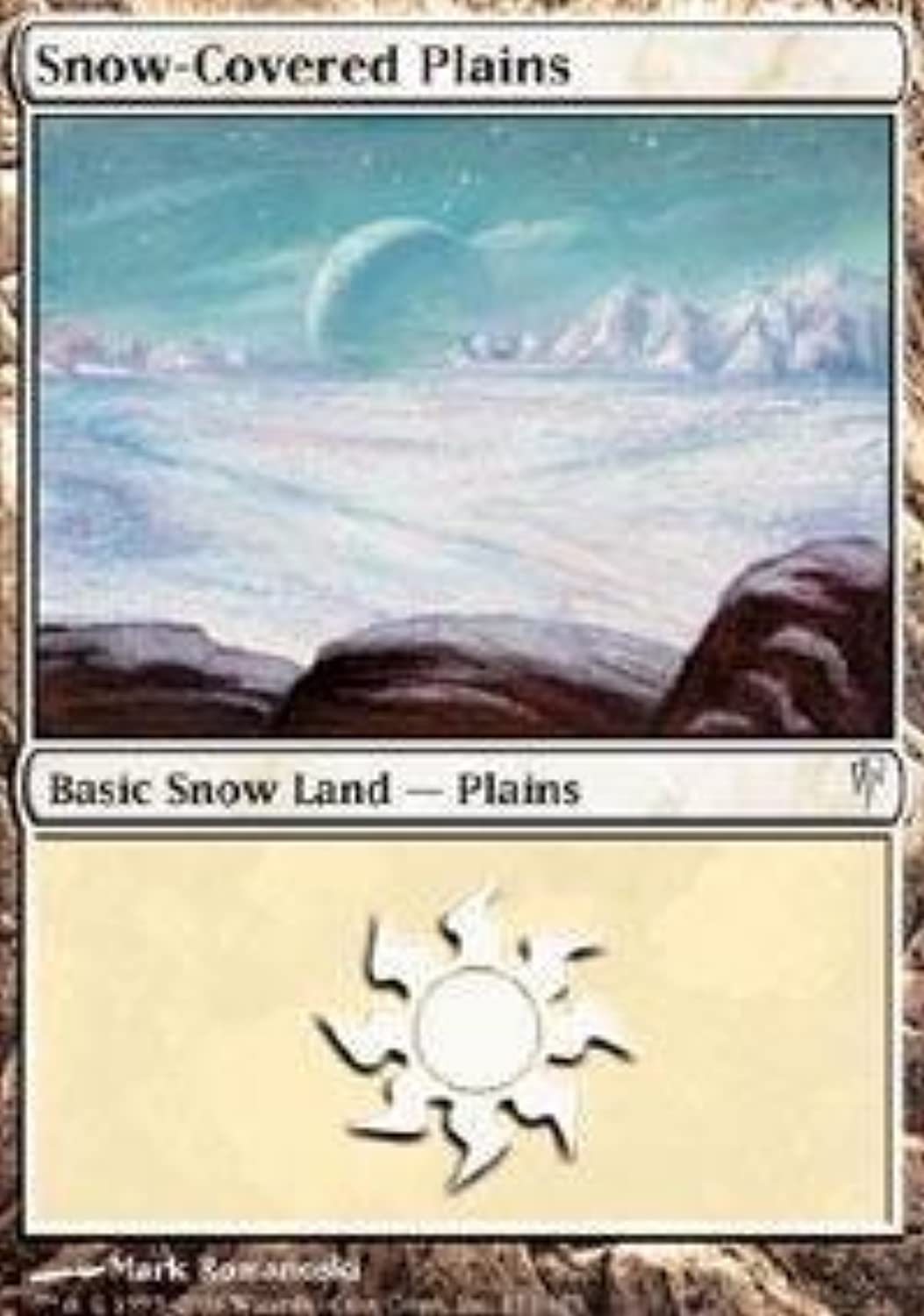 entrega gratis Magic  the Gathering - - - Snow-Coverojo Plains - Coldsnap - Foil by Magic  the Gathering  mas preferencial