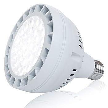 50W LED Pool Light Bulb 5000LM 120V 6000K Daylight White LED Swimming Pool Light Bulb Replaces up to 200-800W Traditionnal Bulb