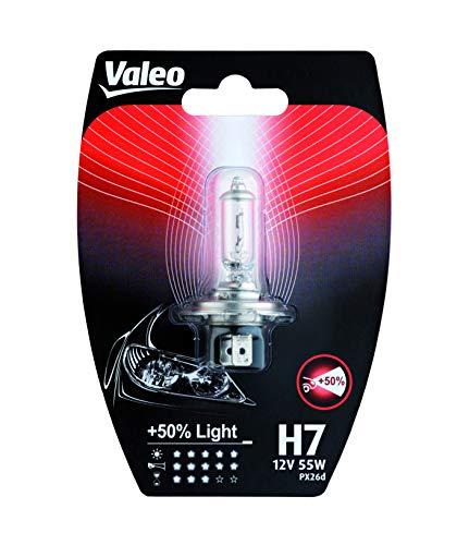 VALEO Ampoules Halogène, H7-+ 50% Light-Blister x1, 32518