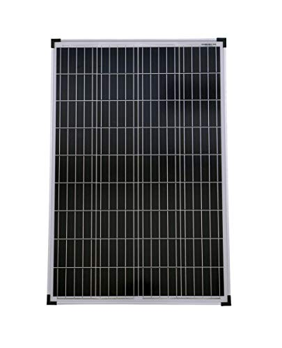 Solarmodul 100 Watt Poly Solarpanel Solarzelle 1010x680x30 90639 Photovoltaik