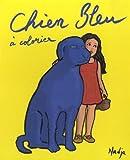 Chien Bleu à colorier - ECOLE DES LOISIRS - 08/10/2014