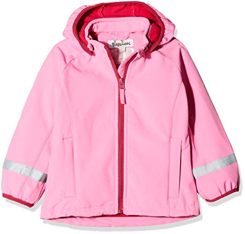Playshoes Playshoes Baby-Mädchen Softshell Jacke, Rosa (Pink 18), 74