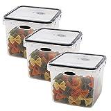 Food Storage 8 Piece Set Lunch Box Salad Plastic Container Rectangular