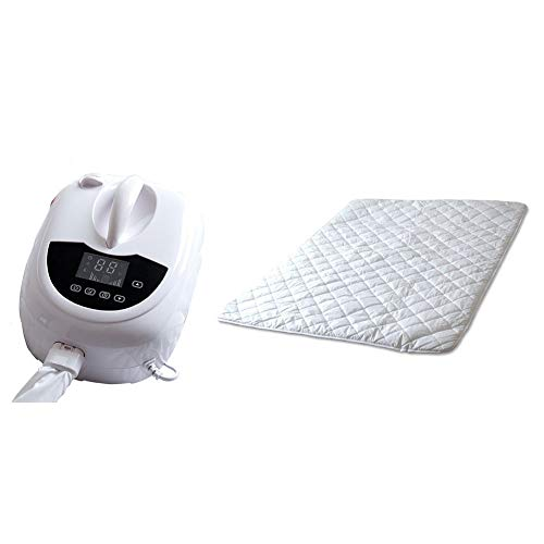 LOVE-HOME Heated Blanket Electric, Intelligent Single-Person Plumbing, Water Circulation Heating, Not Afraid of Drying at Night 150X90cm