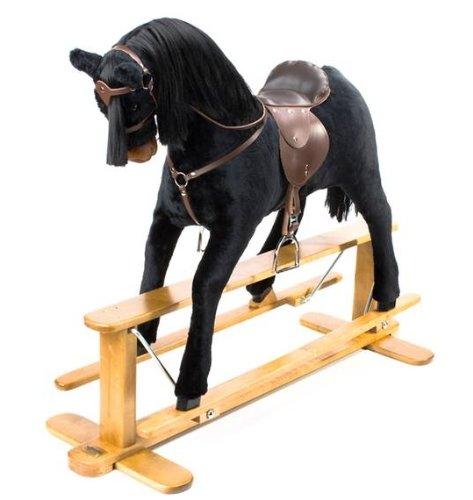 "LUXURIOUS VERY LARGE Rocking Horse ""URANUS"" from MJMARK"