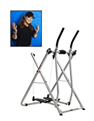 High-performance exercise glider for improved cardiovascular performance Unsurpassed range of motion goes from slow walk to full run with no sudden stops Easy-to-use, 5-function workout computer tracks speed, distance, time, and more Extra-wide, non-...