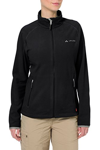VAUDE Damen FleeceJacke Smaland, black, 36, 5031