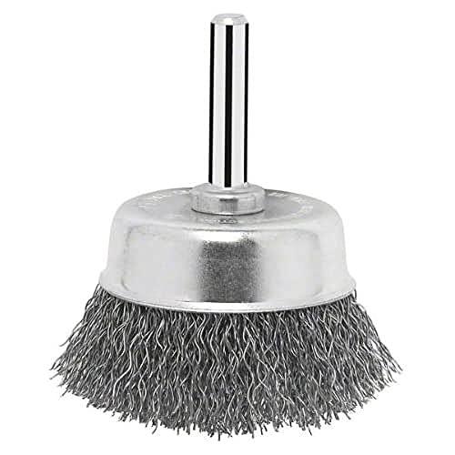 Bosch Topfbürste für Bohrmaschinen, gewellter Draht, Ø 75 mm, 2607017123