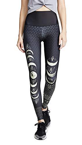 Onzie Damen-Leggings mit hoher Taille - Schwarz - X-Klein
