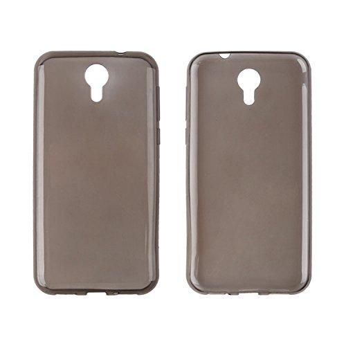 Owbb Hülle für Homtom HT3/HT3 Pro Crystal Soft TPU Silikon Ultra Dünn Softcase Schutzhülle Bumper Case mit Kratzfeste Function Backcover Design - Grau