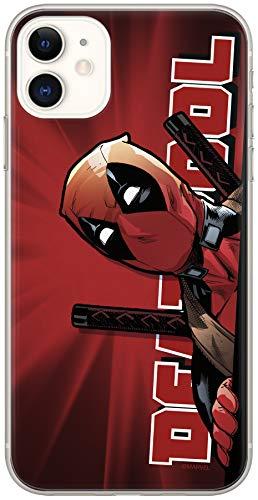 Original & Offiziell Lizenziertes Marvel Deadpool Handyhülle für iPhone 11, Hülle, Hülle, Cover aus Kunststoff TPU-Silikon, schützt vor Stößen & Kratzern