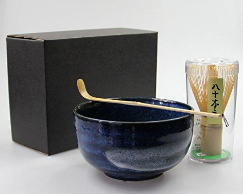 Matcha Set 3-teilig Schale [ Chawan ] Bambusbesen [ Chasen ] Bambuslöffel #4