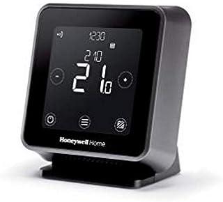 Honeywell Home T6R Wi-Fi Raumthermostat mit Tischhalter, Netzteil und Funk-Empfängerbox,..