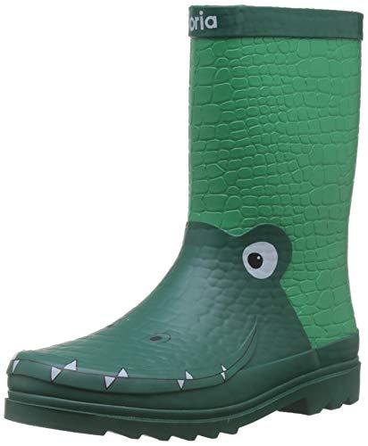 victoria Lluvia Animales, Sneaker Unisex-Bambini, Verde (Verde 60), 32 EU