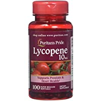 100-Count Puritans Pride Lycopene 10 Mg Softgels