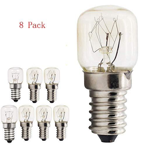 Bombillas de luz del horno E14 Tapa de tornillo Edison peque