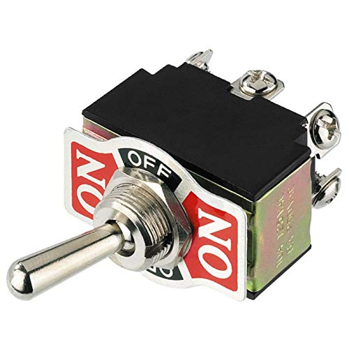MONACOR INTERNATIONAL Kipp-Umschalter MS-310 250VAC,6A Geräte-Einbauschalter und -Taster 4007754016246