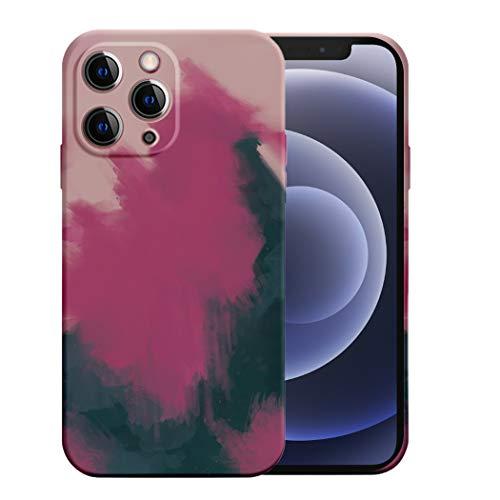 Jancyu Compatible con funda iPhone 12 Pro Max de silicona de colores – Protección completa Body, carcasa antigolpes con forro de microfibra para Apple iPhone 12 Pro Max 2020 (12 Pro Max, 6)