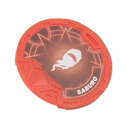 Giochi Preziosi- Gormiti Saburo Personaggio Articolato con Token, Multicolore, 8 cm, GRM23400