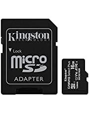 Kingston Canvas Select Plus microSDCard Met SD-adapter 16GB