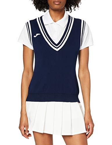 Joma Tennis 80 Polo, Femme M Bleu Marine