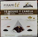 """PiramiTé Rooibos """"te negro y canela la Barraca, 20 g 10 x 2 g…"""