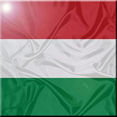 Rikki Knight 12 x 12 Azerbaijan Flag Design Ceramic Art Tile