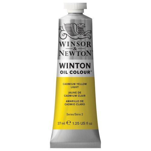 Winsor & Newton Winton Oil Color Paint, 37-ml Tube, Cadmium Yellow Light