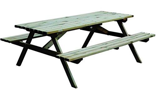 Vigor-Blinky Tables avec bancs en bois Blinky