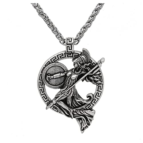Personalized Necklace, Creative Pendant Necklace, Alloy Material Fashion Necklace, Greek Goddess Roman Mythology Personalization Necklace