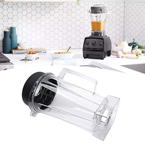 Meiyya Elektrischer Entsafterbehälter, Entsafter-Abdeckklinge Transparent mit oberer Abdeckklinge für Vitamix für den Haushalt