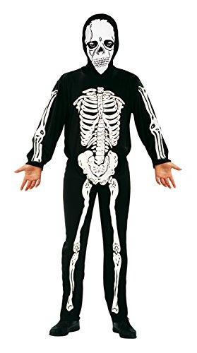 My Other Me Me-200092 Disfraz esqueleto, 10-12 años (Viving Costumes 200092)