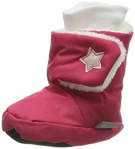 Sterntaler Mädchen Baby-Schuh Stiefel, Rot (Beerenrot), 15/16 EU
