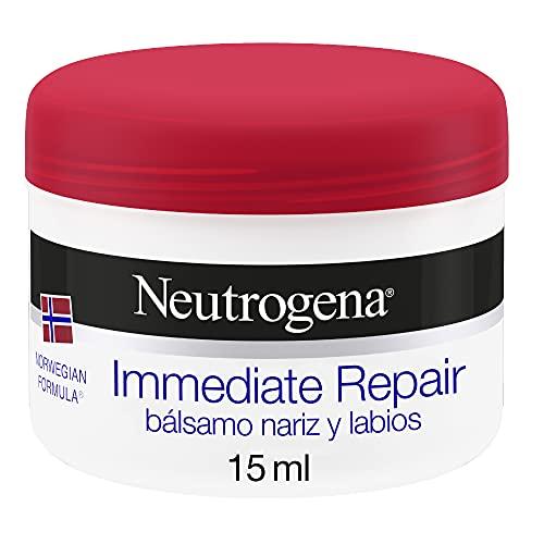 Neutrogena Bálsamo nariz y labios reparación inmediata fórmula Noruega, 15 ml