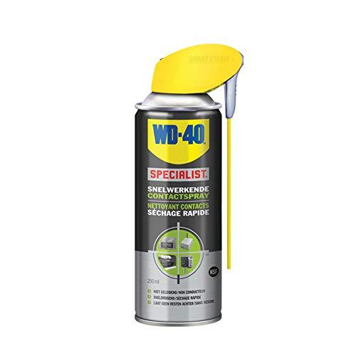 WD-40 56716 Schnellwirkende Kontaktspray Smart Straw, 250ml, Grey